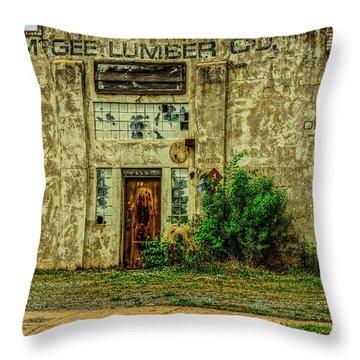 Mcgee Lumber 2 Throw Pillow
