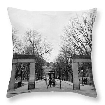 Mcgill Gates Throw Pillow