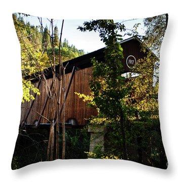 Mckee Bridge Throw Pillow