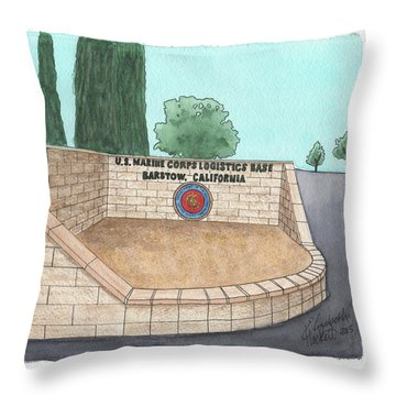 Mclb Barstow Welcome Throw Pillow