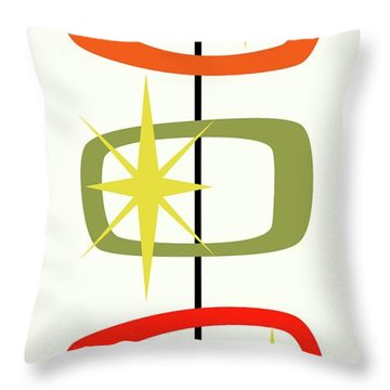 Mcm Shapes 1 Throw Pillow