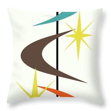 Mcm Shapes 2 Throw Pillow
