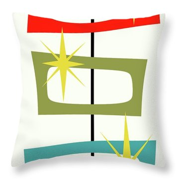 Mcm Shapes 3 Throw Pillow