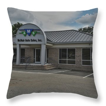 Mcnair4 Throw Pillow