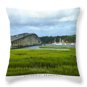 Mcteer Bridge Throw Pillow