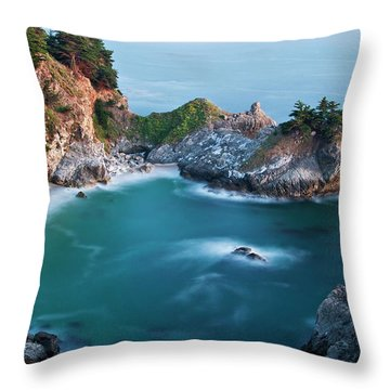 Throw Pillow featuring the photograph Mcway Bay by Dan McGeorge