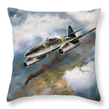 'me - 262' Throw Pillow by Colin Parker