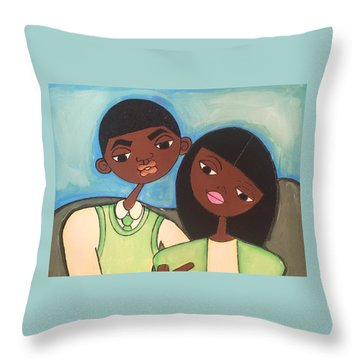 Me And My Boo Throw Pillow
