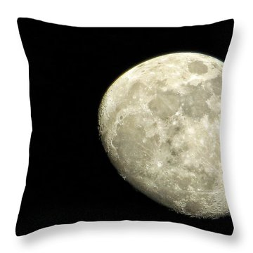 Me And The Moon Tonight Throw Pillow by Nikki McInnes