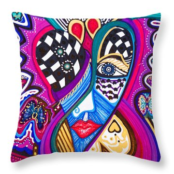 Me Looking For Love - Viii Throw Pillow