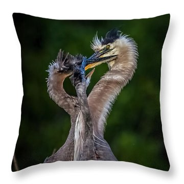 Me Too Throw Pillow by Cyndy Doty