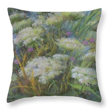 Meadow Bouquet Throw Pillow