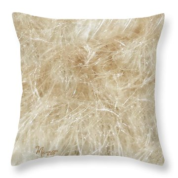 Meadow Fluff Throw Pillow