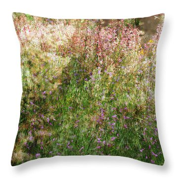 Meadow Throw Pillow by Linde Townsend