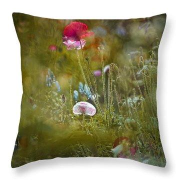 Meadow Magic Throw Pillow