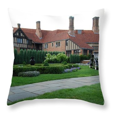 Meadowbrook Hall Throw Pillow