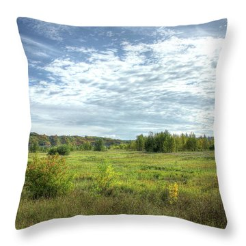 Meadowlands Throw Pillow