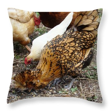 Mealtime Throw Pillow