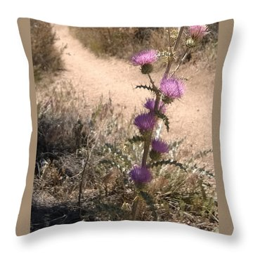 Meaner Than They Look Throw Pillow by Claudia Goodell
