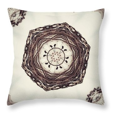 Meanwhile In Lisbon Throw Pillow by Jorge Ferreira