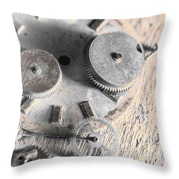 Mechanical Art Throw Pillow