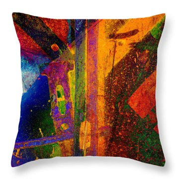 Mechanical Drawing Throw Pillow