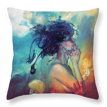 Myths Throw Pillows