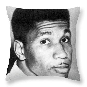 Medgar Evers (1925-1963) Throw Pillow by Granger