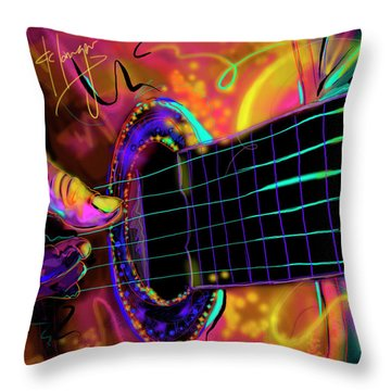 Medianoche Throw Pillow