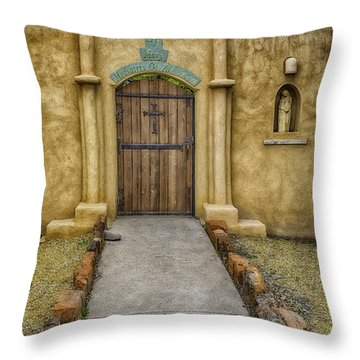 Mediatrix Of All Graces Throw Pillow