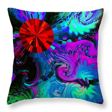 Medicine Dreams Throw Pillow
