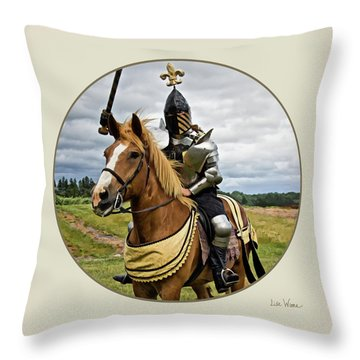 Medieval And Renaissance Throw Pillow
