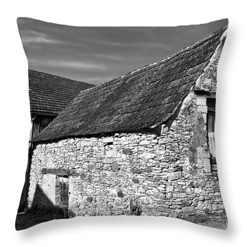 Medieval Country House Sound Throw Pillow