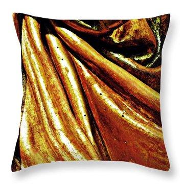 Medieval Folds   Throw Pillow by Sarah Loft