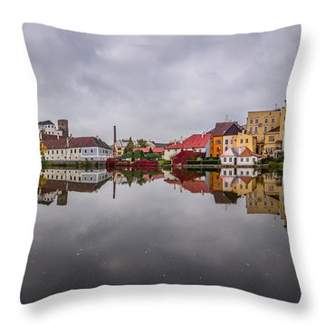Medieval Symphony Throw Pillow