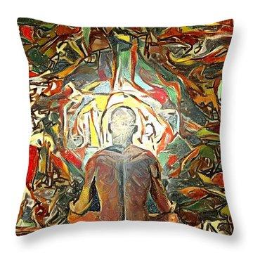 Meditation Throw Pillow