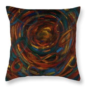 Meditation Painting #1 Throw Pillow