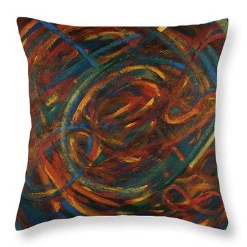 Meditation Painting #2 Throw Pillow