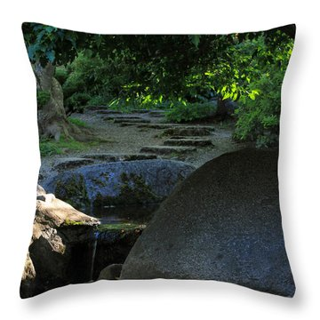 Meditation Path Throw Pillow