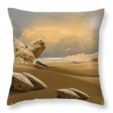 Meditation Place Throw Pillow