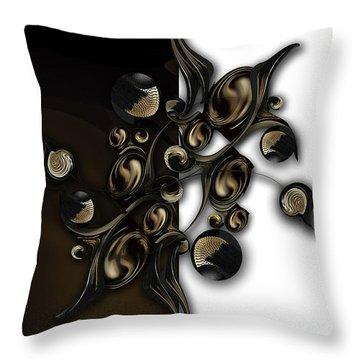 Meditation Vs Dimension Throw Pillow
