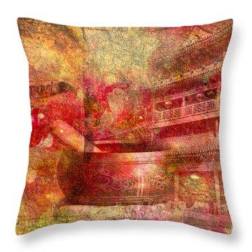Meditative Montage 2015 Throw Pillow