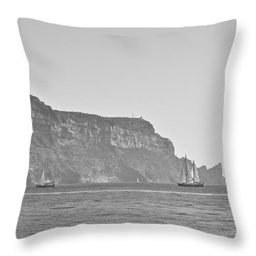 Mediterranean Afternoon Throw Pillow by Leigh Bandy