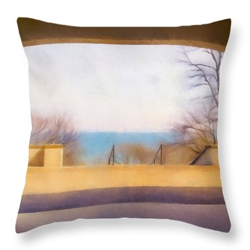 Mediterranean Dreams Throw Pillow by Scott Norris