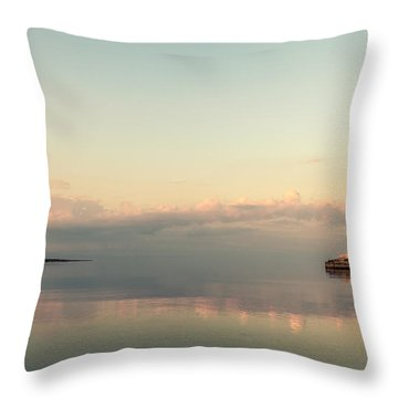 Mediterranean Dusk Throw Pillow