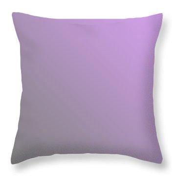 Medium Gray Diagonal Ombre Throw Pillow