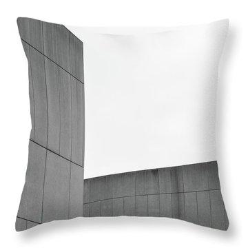 Medsci Building Throw Pillow