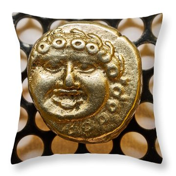 Medusa Throw Pillow