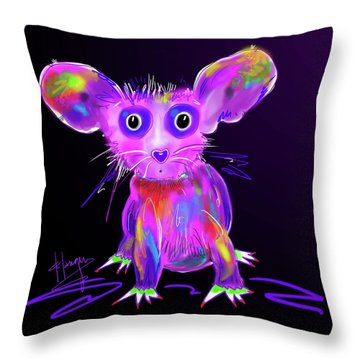 Meep Throw Pillow
