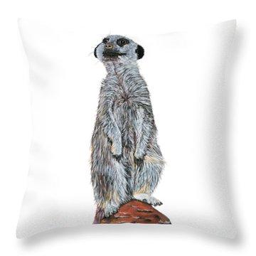 Meer Curiosity Custom Throw Pillow